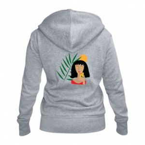 Damska bluza na zamek Selfie - PrintSalon