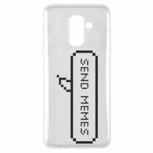 Phone case for Samsung A6+ 2018 Send memes