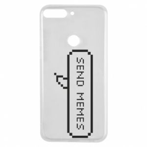 Phone case for Huawei Y7 Prime 2018 Send memes