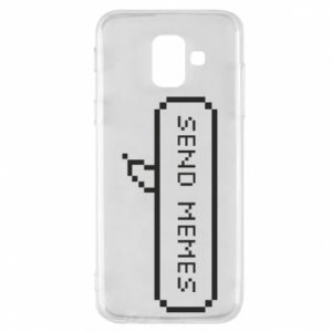 Phone case for Samsung A6 2018 Send memes