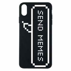 Phone case for iPhone Xs Max Send memes
