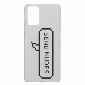 Etui na Samsung Note 20 Send nudes pixels