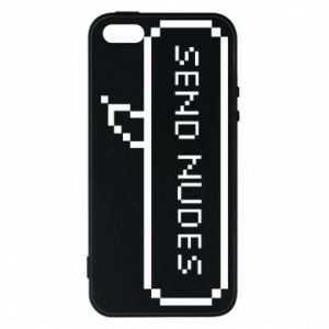 Etui na iPhone 5/5S/SE Send nudes pixels