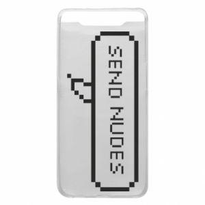 Etui na Samsung A80 Send nudes pixels