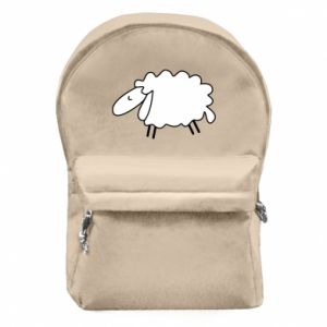Backpack with front pocket Sleepy ram