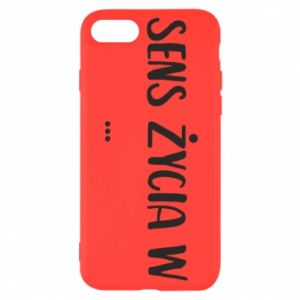 iPhone SE 2020 Case The meaning of life in ...
