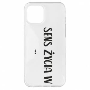 iPhone 12 Pro Max Case The meaning of life in ...