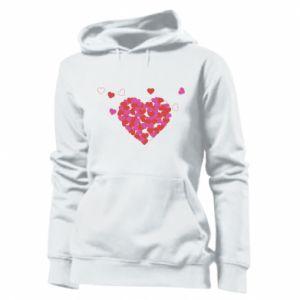 Damska bluza Serca w sercu