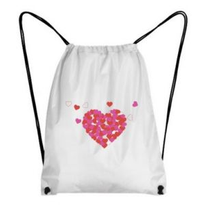 Backpack-bag Hearts in the heart