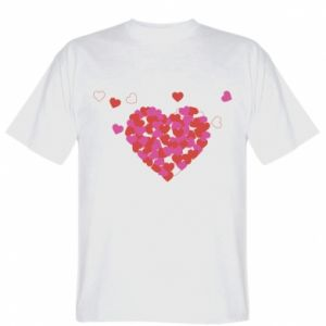 Koszulka męska Serca w sercu