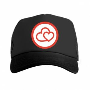 Trucker hat Two hearts