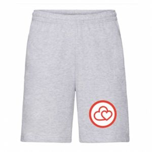 Men's shorts Two hearts