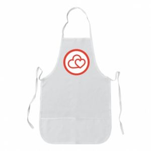 Apron Two hearts