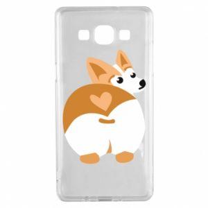 Samsung A5 2015 Case Corgi heart