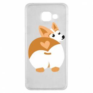 Samsung A3 2016 Case Corgi heart