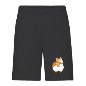Men's shorts Corgi heart