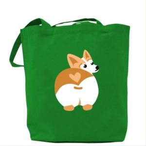 Bag Corgi heart