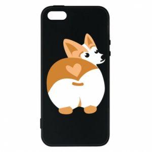 Phone case for iPhone 5/5S/SE Corgi heart - PrintSalon
