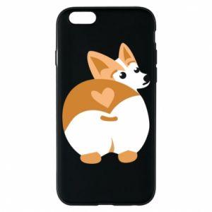 Phone case for iPhone 6/6S Corgi heart - PrintSalon