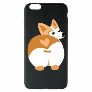 Phone case for iPhone 6 Plus/6S Plus Corgi heart - PrintSalon