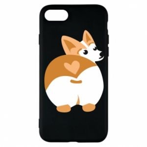 Phone case for iPhone 8 Corgi heart - PrintSalon