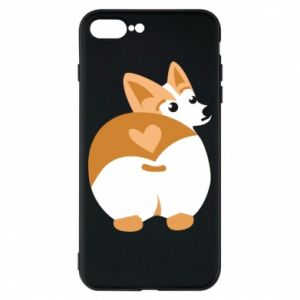 iPhone 8 Plus Case Corgi heart