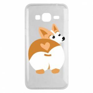 Samsung J3 2016 Case Corgi heart