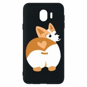Phone case for Samsung J4 Corgi heart - PrintSalon