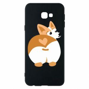 Phone case for Samsung J4 Plus 2018 Corgi heart - PrintSalon