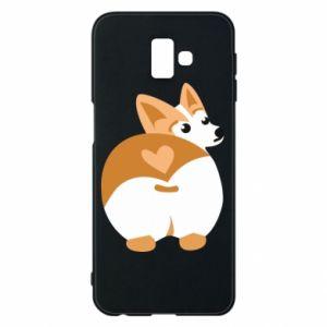 Phone case for Samsung J6 Plus 2018 Corgi heart - PrintSalon