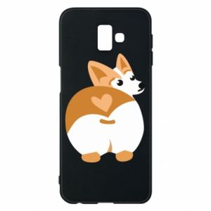Samsung J6 Plus 2018 Case Corgi heart