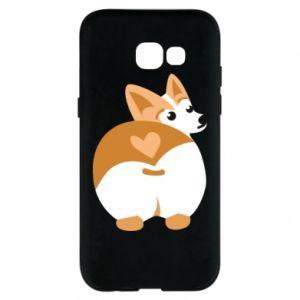 Phone case for Samsung A5 2017 Corgi heart - PrintSalon