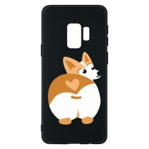 Phone case for Samsung S9 Corgi heart - PrintSalon