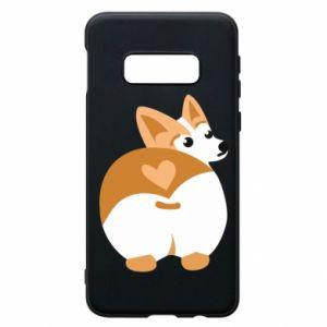 Phone case for Samsung S10e Corgi heart - PrintSalon