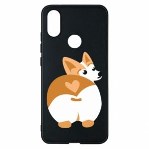 Phone case for Xiaomi Mi A2 Corgi heart - PrintSalon