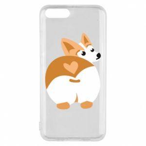 Phone case for Xiaomi Mi6 Corgi heart - PrintSalon