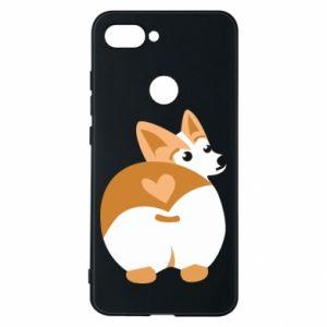 Phone case for Xiaomi Mi8 Lite Corgi heart - PrintSalon