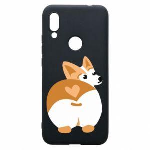 Phone case for Xiaomi Redmi 7 Corgi heart - PrintSalon