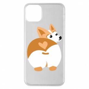 iPhone 11 Pro Max Case Corgi heart