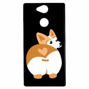 Sony Xperia XA2 Case Corgi heart
