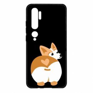 Etui na Xiaomi Mi Note 10 Serce Corgi