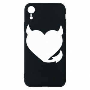 Phone case for iPhone XR Devil's heart