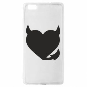 Huawei P8 Lite Case Devil's heart