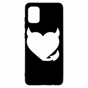Samsung A31 Case Devil's heart