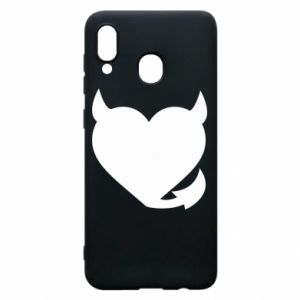 Phone case for Samsung A30 Devil's heart