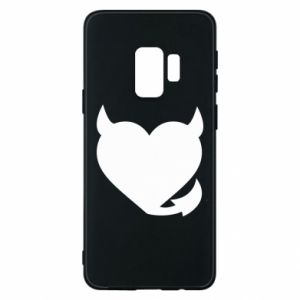 Samsung S9 Case Devil's heart