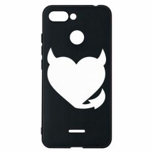 Xiaomi Redmi 6 Case Devil's heart