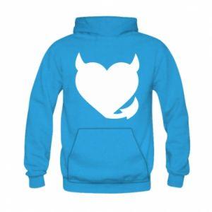 Kid's hoodie Devil's heart