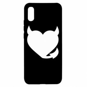 Xiaomi Redmi 9a Case Devil's heart
