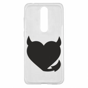 Nokia 5.1 Plus Case Devil's heart